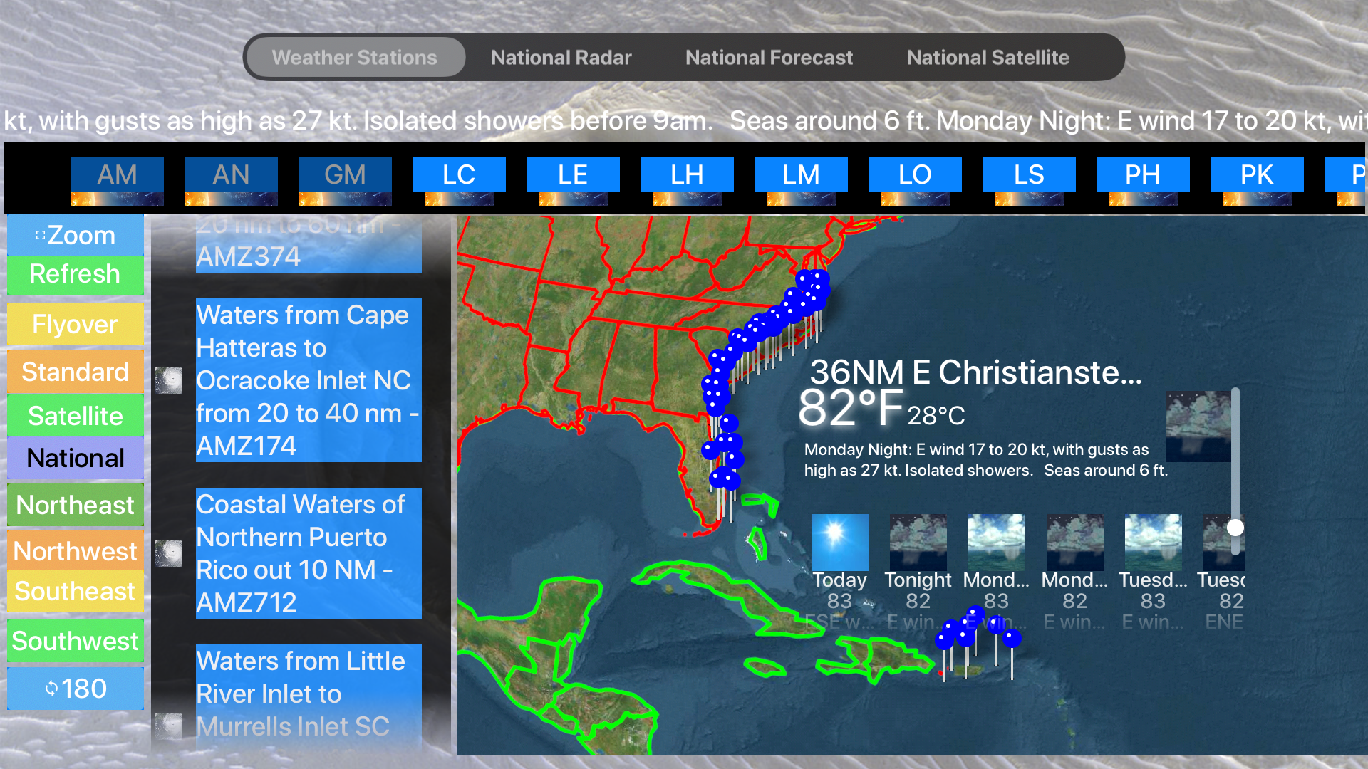 Instant Marine Forecast Pro screenshot 15