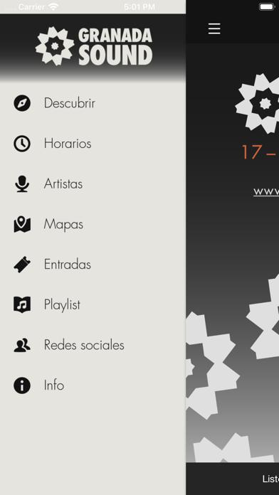 Granada SoundCaptura de pantalla de3