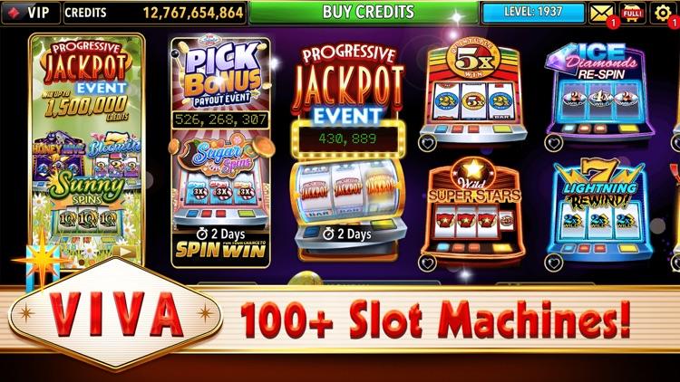 Viva Slots Vegas Slot Machines screenshot-3