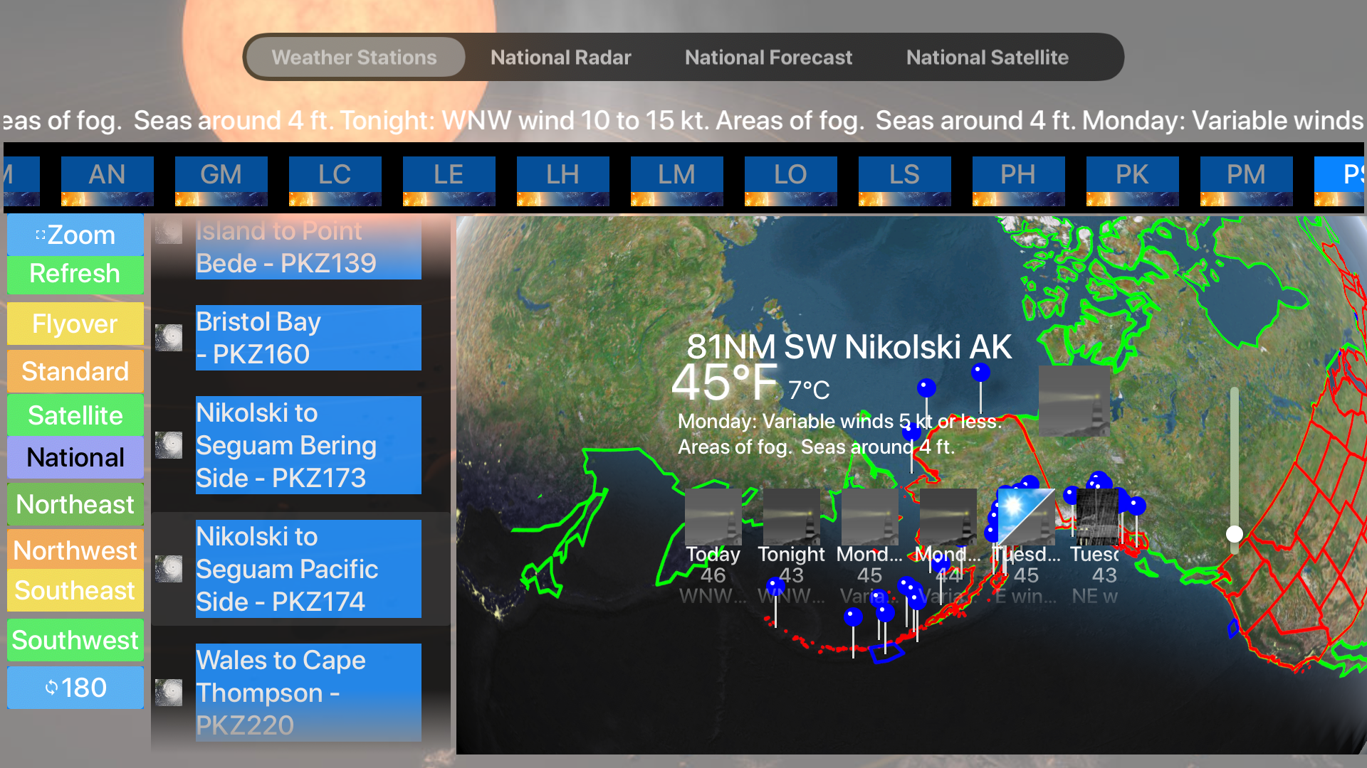 Instant Marine Forecast Pro screenshot 23