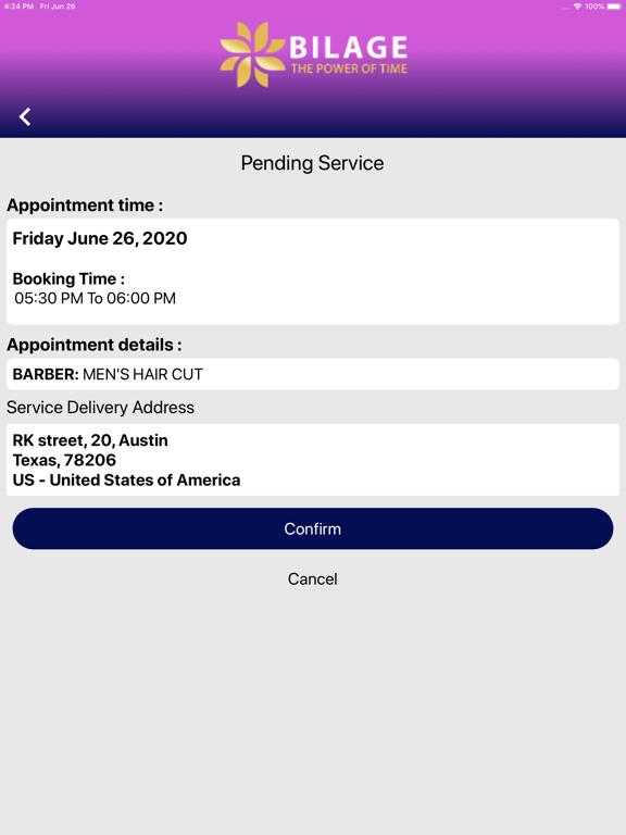Bilage Provider screenshot 12