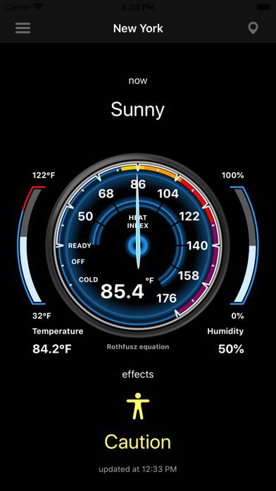 Heat Index - HI screenshot 2