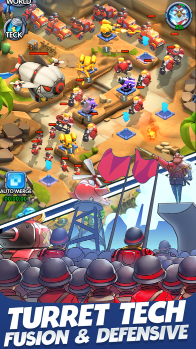 Rooster Defense screenshot 1