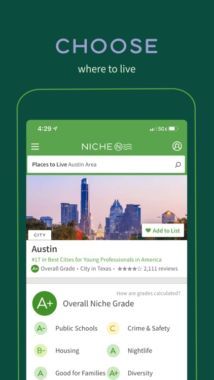 Niche: Colleges, K-12 & Places screenshot-6