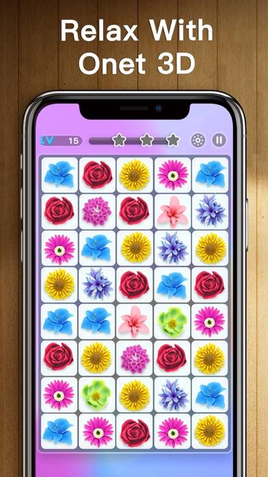 Onet 3D - Classic Link Puzzle screenshot 3