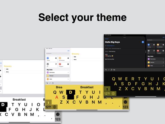 Big Keys Keyboard Screenshots