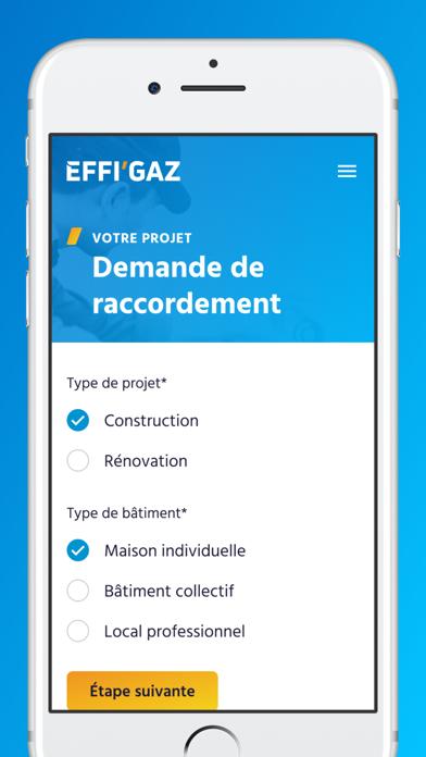 EFFI'GAZ screenshot 4
