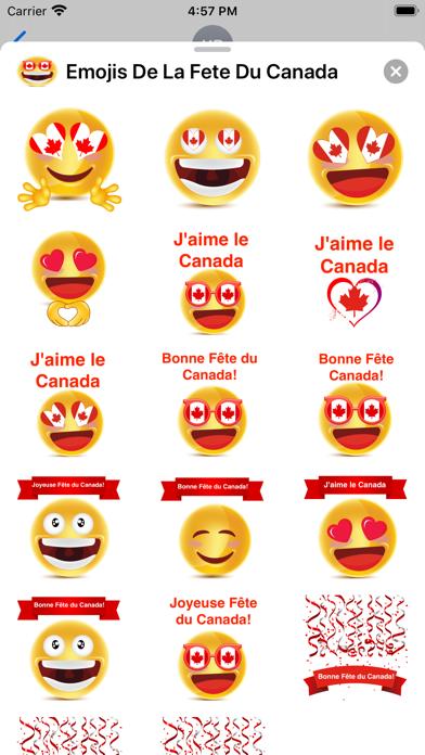 Emojis De La Fête Du Canada screenshot 5