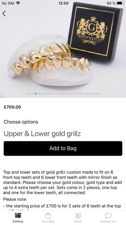 Gold Grillz screenshot-4