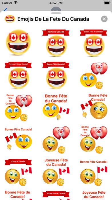 Emojis De La Fête Du Canada screenshot 2