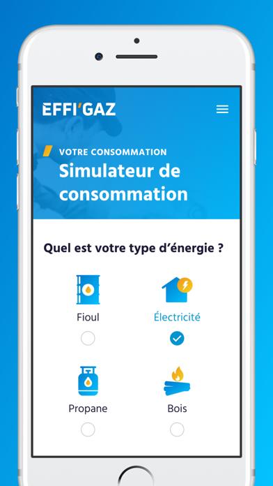 EFFI'GAZ screenshot 2