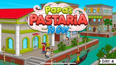 Papa's Pastaria To Go! screenshot 1