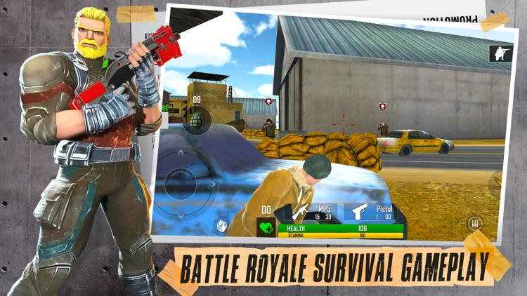 Fort Shooting Battle Royale 3D screenshot-2
