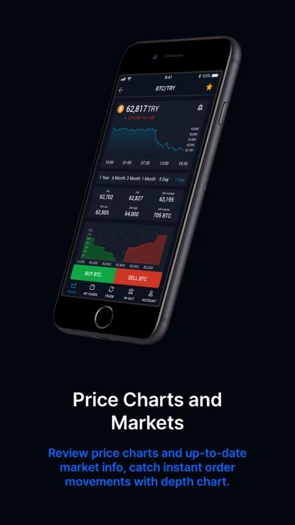 BtcTurk | PRO Buy-Sell Bitcoin screenshot-3