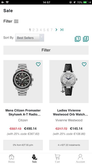Watch Shop screenshot 4