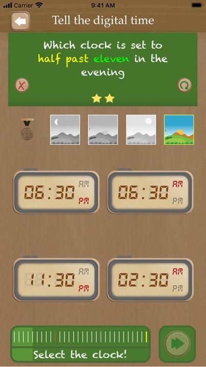 Set the clock screenshot-3