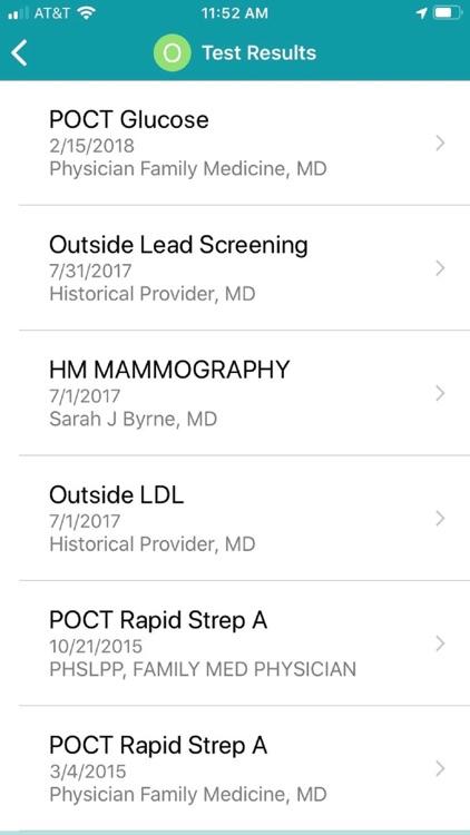 Patient Gateway screenshot-3