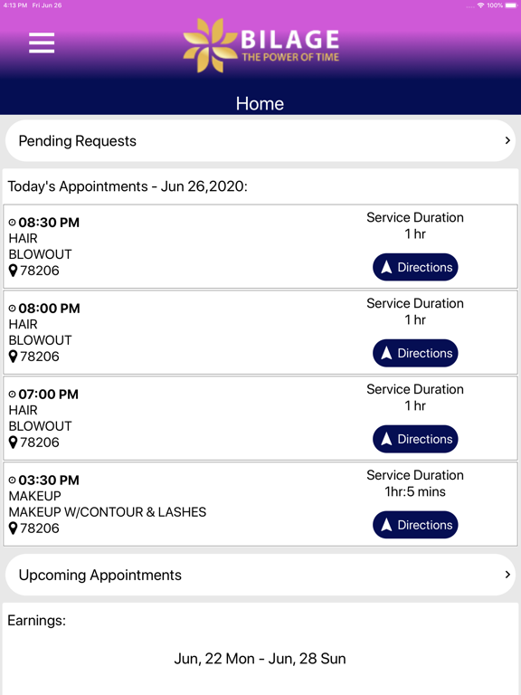 Bilage Provider screenshot 9