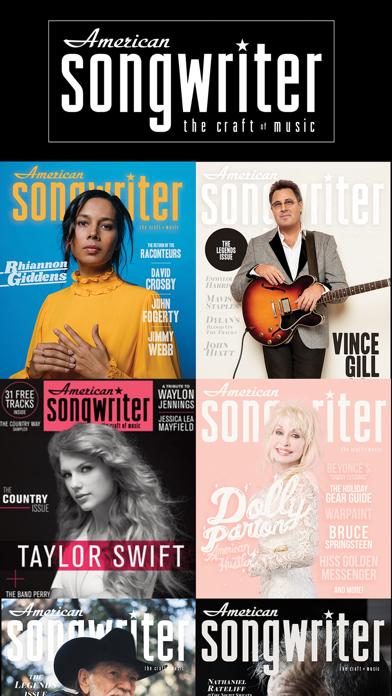 American Songwriter Magazine screenshot one
