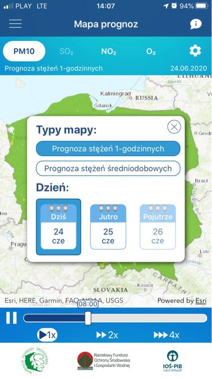 Jakosc powietrza w Polsce screenshot-5