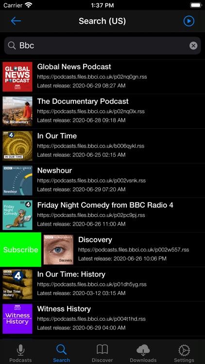 Primecast - A Podcast Player screenshot-9