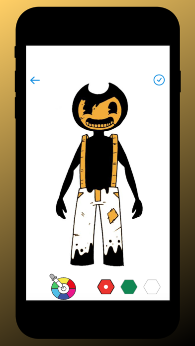 Bendy Coloring screenshot 1