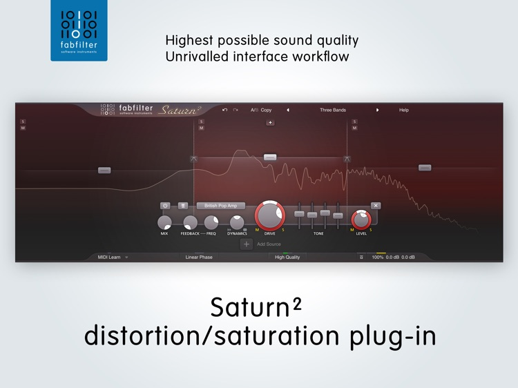 FabFilter Saturn 2 screenshot-0