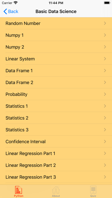 Data Science Part I screenshot 8