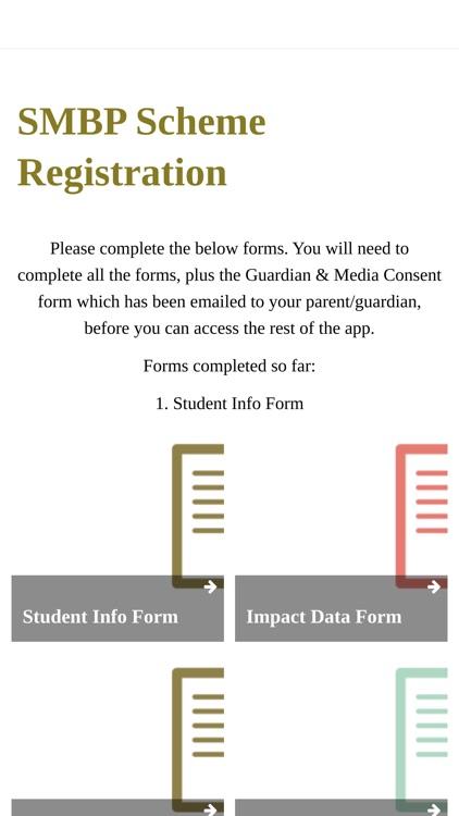 SMBP Student app screenshot-4