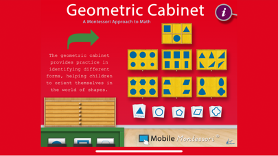 Montessori Geometric Cabinet screenshot 1