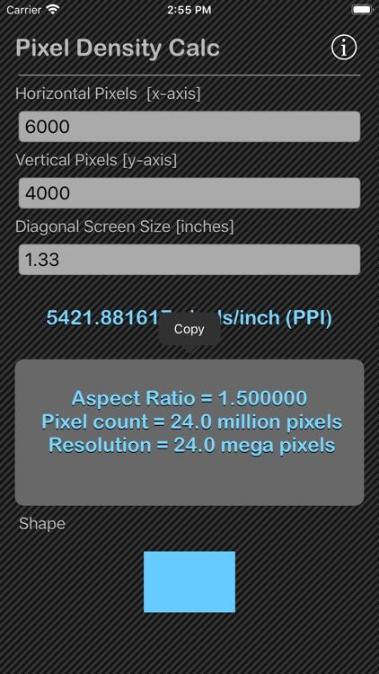 Pixel Density Calc screenshot-3
