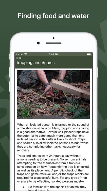 Army Survival Skills screenshot-3