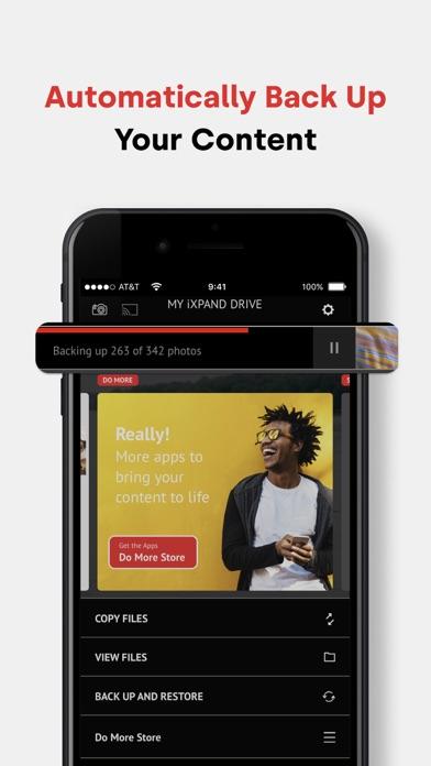 iXpand DriveScreenshot von 3