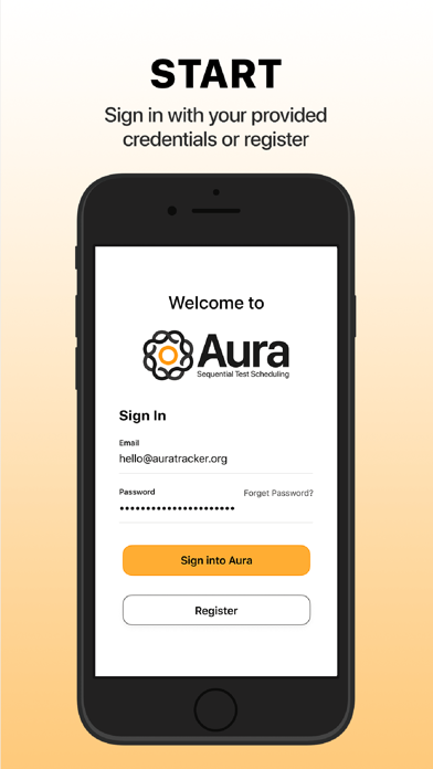 messages.download Aura Sequential Testing software