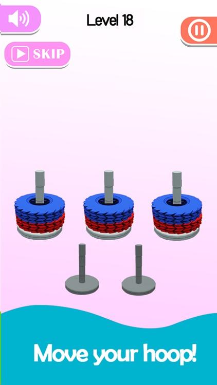 Stack Sort - Color Hoop screenshot-6