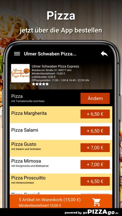 lmer Schwaben Pizza Express screenshot 5