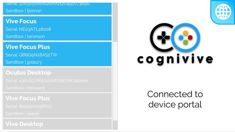 CogniviveVR Companion