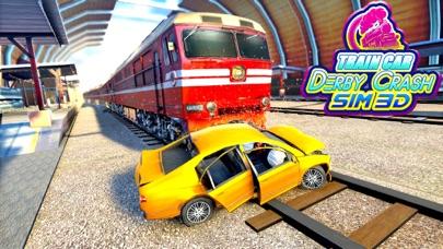 Train Car Derby Crash Sim 3D screenshot 1