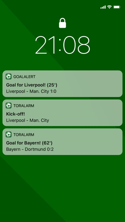GoalAlert Live Scores screenshot-1