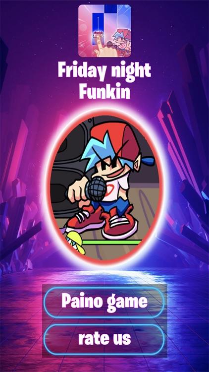 Friday Night Funkin Piano Tile
