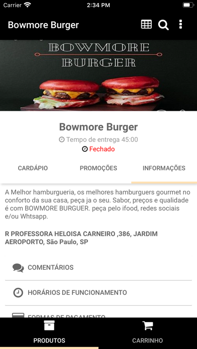 BOWMORE BURGER screenshot 3