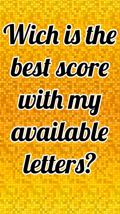 Words With Friends 2 Cheats