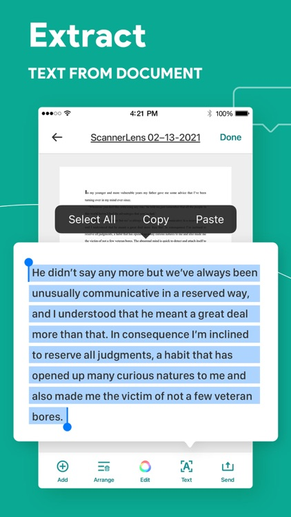 Document scanner: ScannerLens screenshot-4