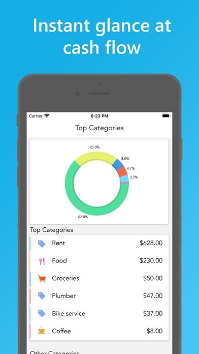 Скриншот №1 к Easy Spending Budget.