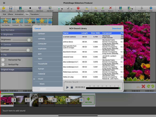 PhotoStage Pro App 截图