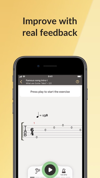 Fretello Guitar Lessons & Play screenshot-4
