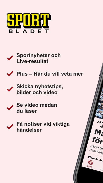 Sportbladet screenshot-0