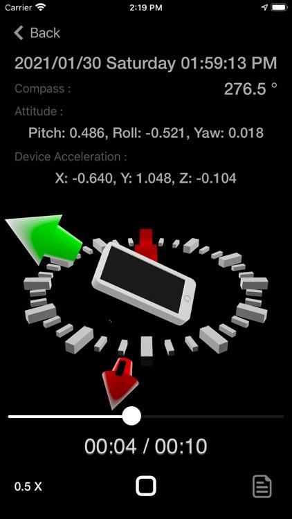 Motion Log Plus screenshot-9