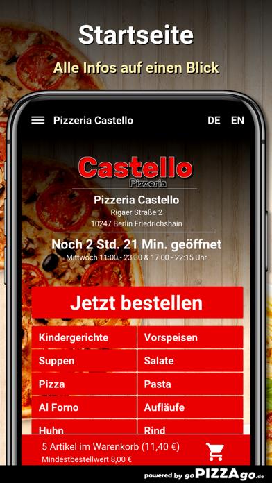 Pizzeria Castello Berlin screenshot 4
