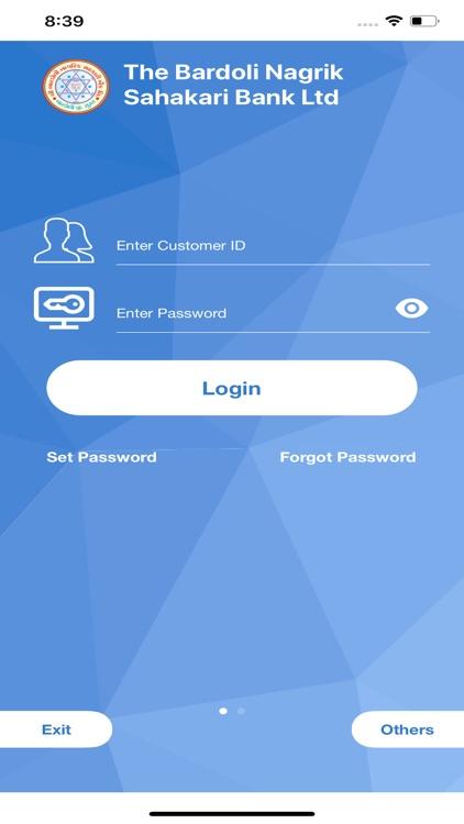 Bardoli Mobile Banking App
